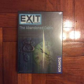 Exit The Abandoned Cabin escape room card game