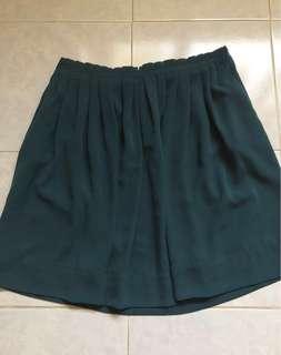 Promod green skirt