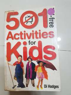 501 activities for kids