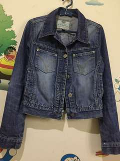 Authentic denim jaket