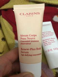 Clarins 瑩亮再生身體精華液 Renew Plus Body Serum 30ml