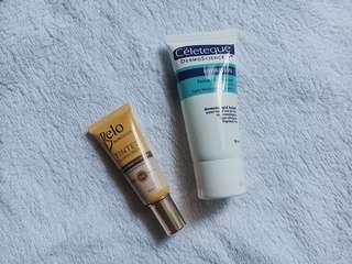Celeteque Hydration Facial Moisturizer and Belo Tinted Sunscreen Bundle