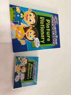 Phonics picture dictionary with 2 VCD