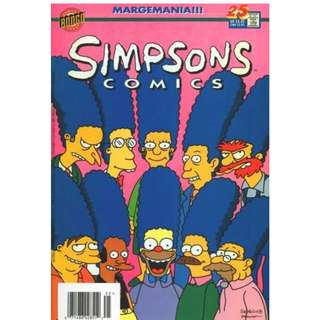 Simpsons Comics #25 (October 1996) - Margemania!!! (Marge gets her own TV show)