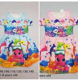 Shop : BABY SHARK DRESS
