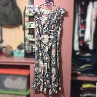 Floral Summer Dress (Sleeveless)