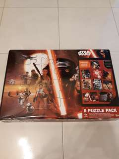 Star Wars Puzzle (8 puzzle pack)