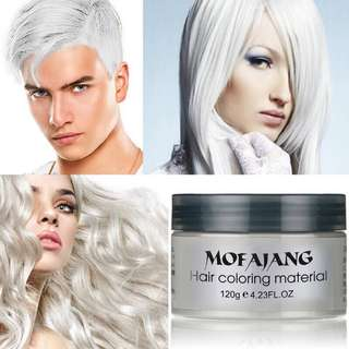 🦋Hair Color Wax Dye One-time Molding Paste Dye maquillaje🦋