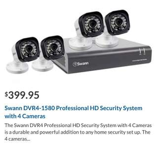 Swann DVR4-1580 Professional HD Security Cameras