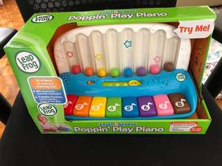 Leapfrog Toy popping play piano