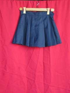 Navy Blue Tennis Skirt