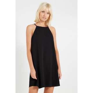 cotton on woven sophie high neck slip dress
