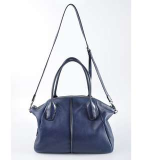 AUTHENTIC TODS MEDIUM LEATHER TOTE BAG , WITH LONG SLING STRAP