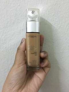 ($ REDUCED & FREE SHIPPING)Loreal True Match Foundation