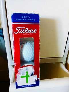 全新golf球2個
