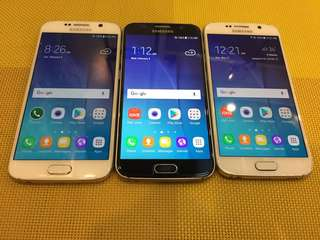 Samsung S6 32gb Smooth (basa description bago inquire)