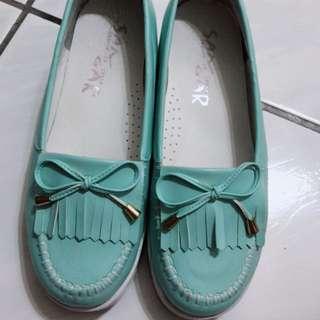 🚚 蒂芬妮綠厚底鞋