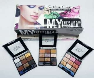 "MY SHADOW - SEVEN COLOR PROFESSIONAL MAKE UP EYESHADOW SERI ""MY SHADOW"""