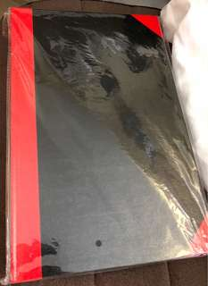 紅船牌 硬皮簿 Red Boat notebook NEW