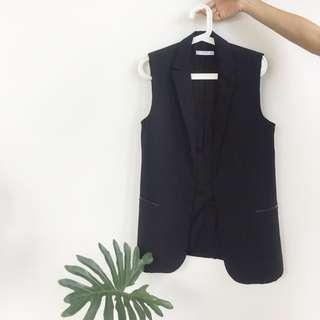 MANGO Black Vest