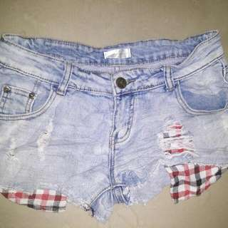 Korean Denim Short