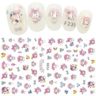 Nail Stickers- My Melody