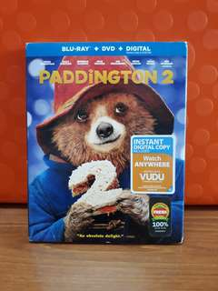 USA Blu Ray Slipcase - Paddington 2