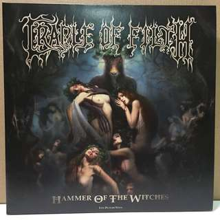 Cradle of Filth Hammer of the Witch picture disc Vinyl Record LP