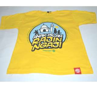 Baju T Boys' girl T-shirt Islami