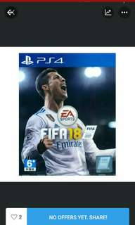 PS4 Fifa 18 R3 (Free Fifa World Cup Update)(29/05/2018)
