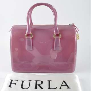 AUTHENTIC Furla Candy Jelly Boston Bag