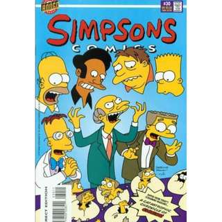 Simpsons Comics #30 (April 1997) - Smitherses!