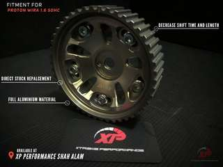 ADJUSTABLE CAM PULLEY WIRA 1.6 SINGLE CAM JASMA