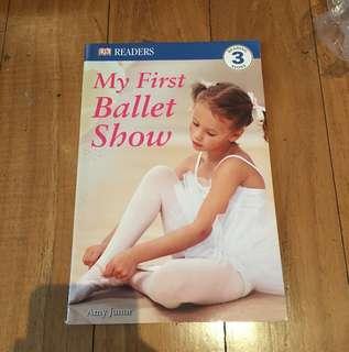 My First Ballet Show Book