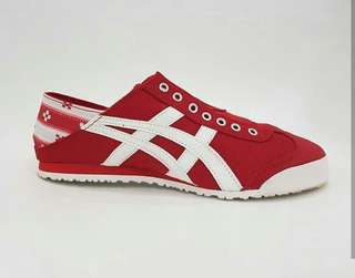 Onitsuka paraty mexico slip on 100% BNIB made in indonesia for man & woman