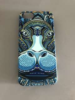 blue pattern iphone 5 case