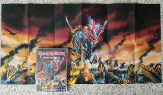 IRON MAIDEN DVD Maiden England '88