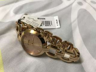 Authentic Fossil Rose Gold Bracelet 32mm Watch