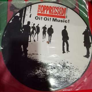 The Oppressed Oi! Oi! Music Made in England 2007 Vinyl Piring Hitam Record