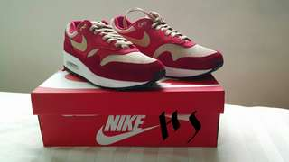 ORIGINAL Air Max 1 Premium Retro ( tough red ) (below market price)