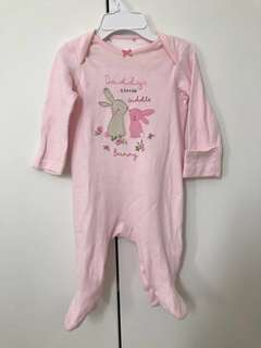 Mothercare bodysuit - up to 1month