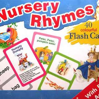 Buku Anak FLASH CARD RHYMES