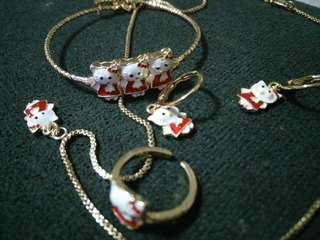 Bb Jewellery set hello kitty