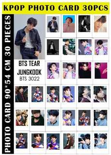 BTS MEMBERS LOMOCARD (ready stock)