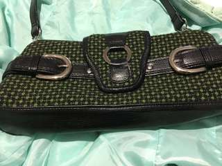 Green small purse