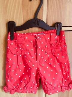 Polka dots shorts 18-24mos