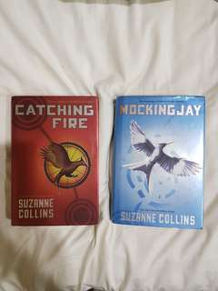 HUNGER GAMES BOOK 2 AND 3 HARDBOUND