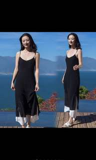 🚚 波希米亞黑裙