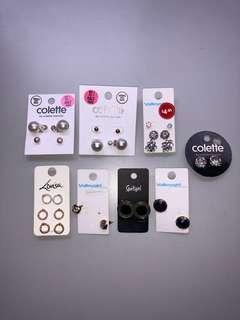 Earrings bundle Colette Valleygirl Lovisa sportsgirl