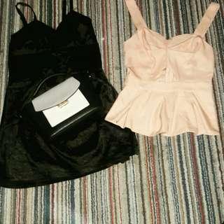 Mini dress & top